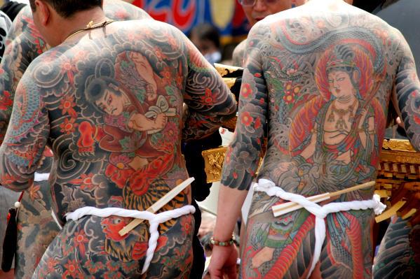 ヤクザの刺青・入れ墨の画像が国宝級の芸術